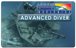 Advanced Scuba Diver NAUI